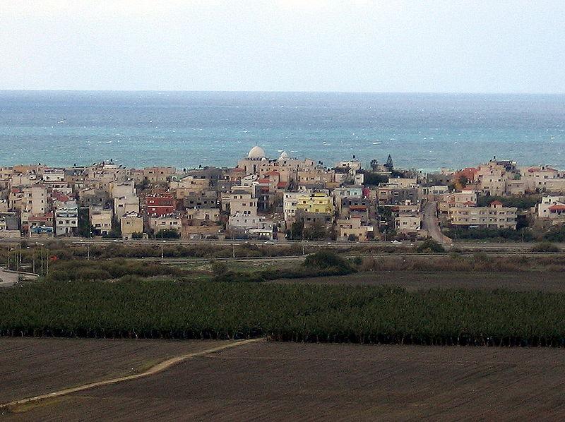 Il villaggio arabo di Jisr al Zarqa