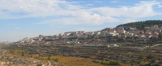 La colonia di Efrat, tra Betlemme ed Hebron