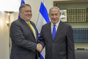 Mike Pompeo Netanyahu
