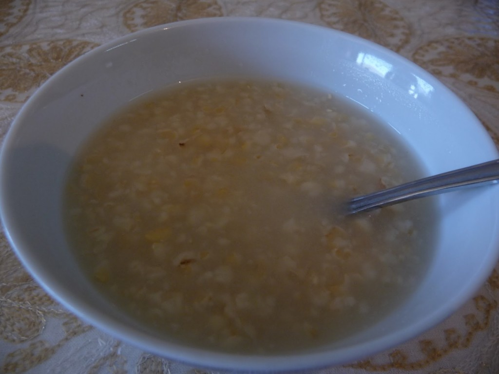 La zuppa di Abramo (Foto: Fidaa Abu Hamdiyyeh)