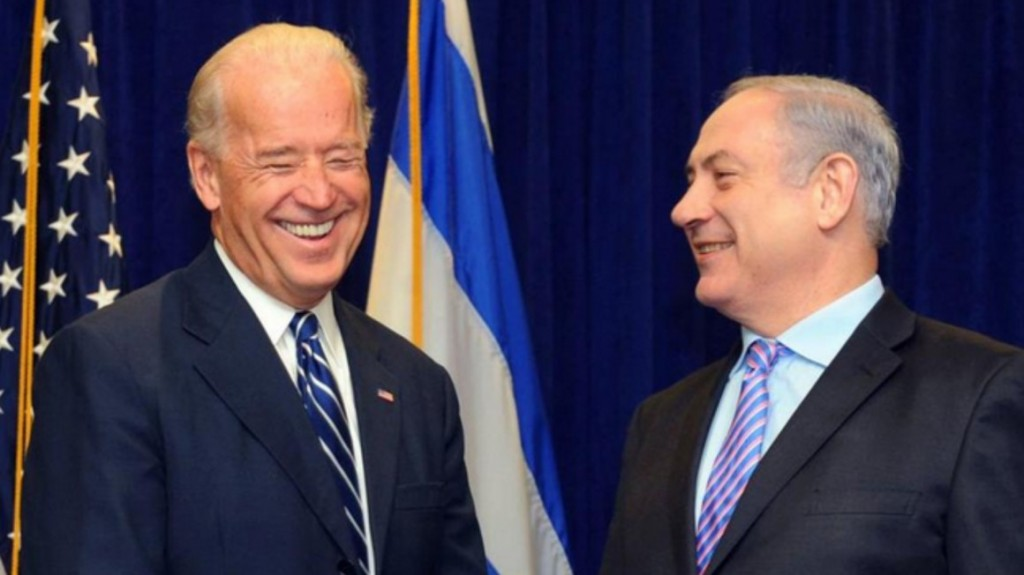Joe Biden con il premier israeliano Netanyahu