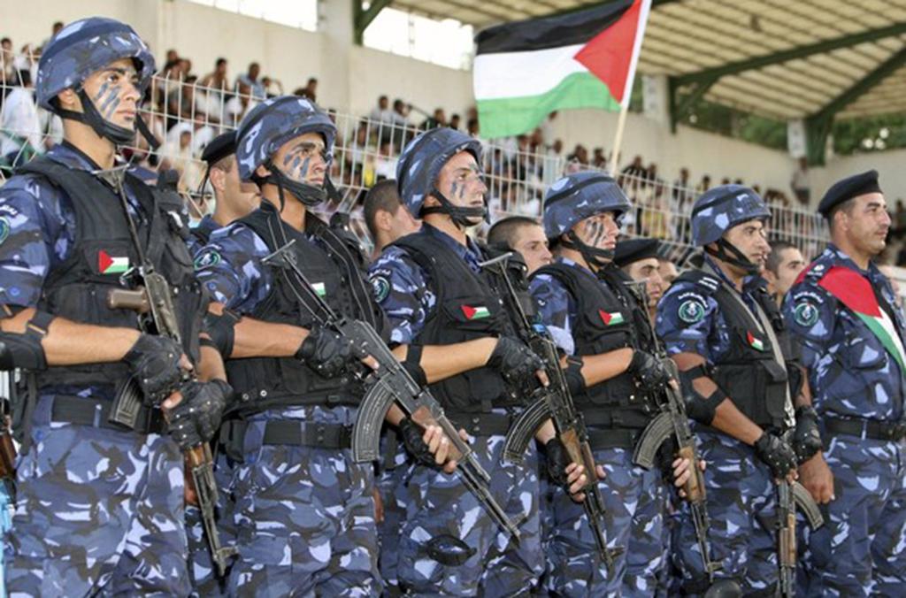 Poliziotti palestinesi (Foto: Interpol)
