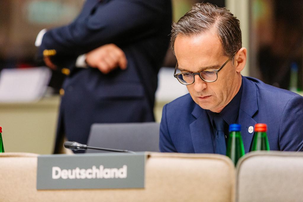 Il ministro degli esteri tedesco Heiko Maas