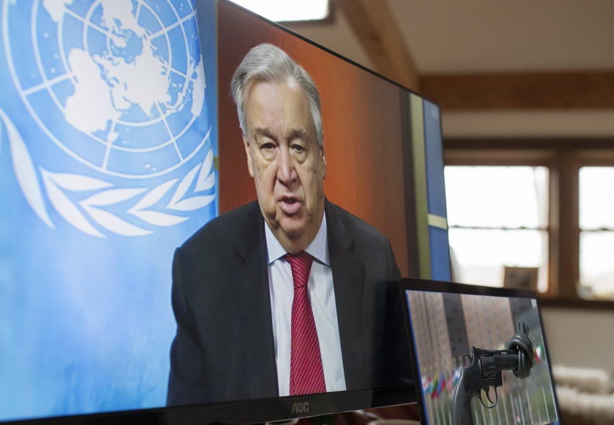 Il Segretario dell'Onu Guterres  (Foto: Onu)