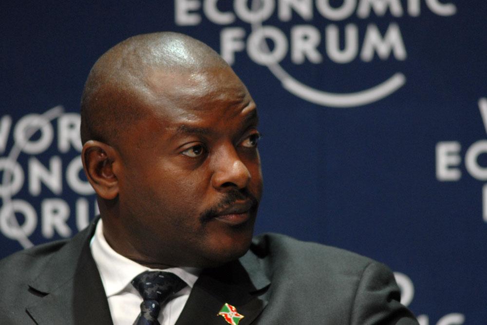 Il presidente del Burundi, Pierre Nkurunziza (Foto: World Economic Forum)