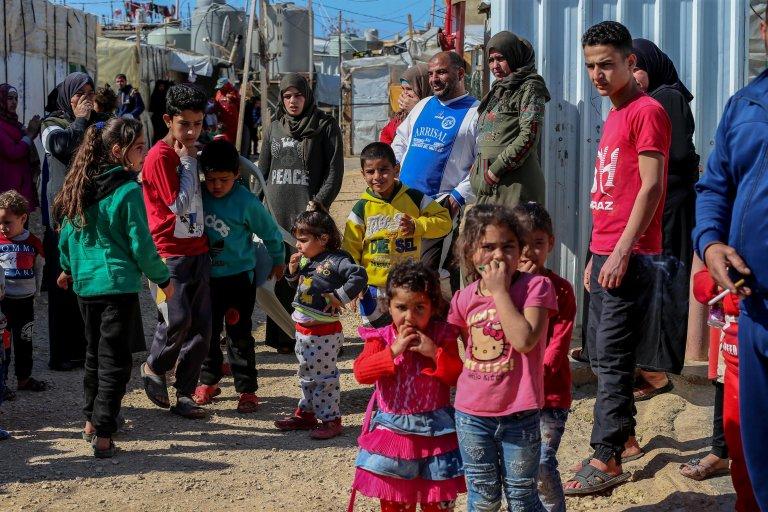 Rifugiati siriani nel nord del Libano (foto tratta dal portale infomigrants)