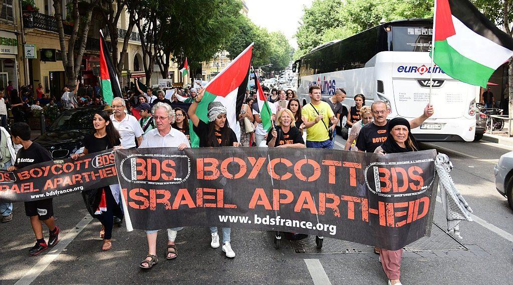 Una manifestazione del Bds in Francia (Foto: Citizenside)