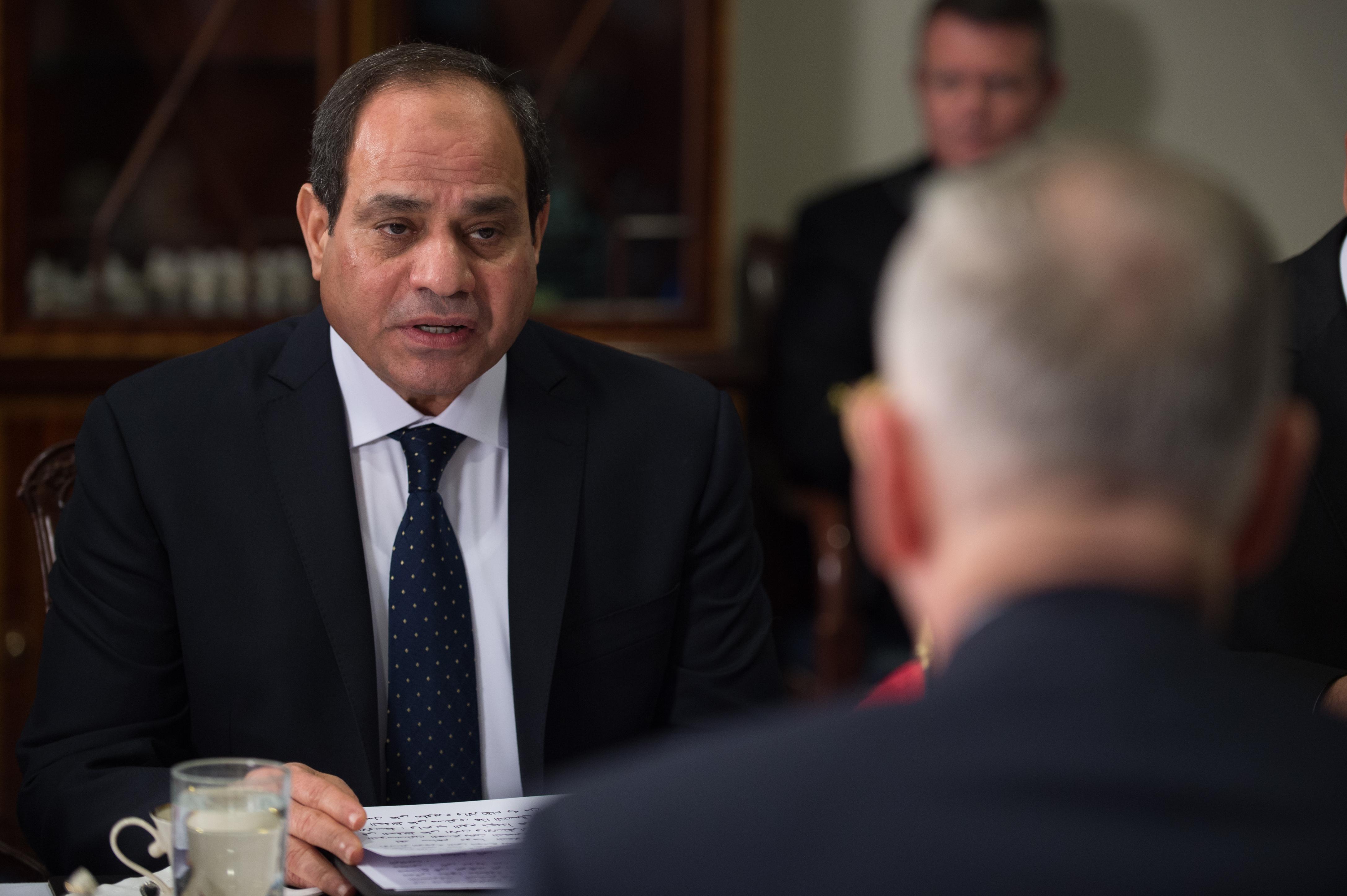 Il presidente egiziano Abde Fattah al-Sisi