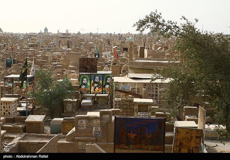 Iraq. Wadi al Salam, il cimitero di Najaf © Abdolrahman Rafati/Tasnimnews
