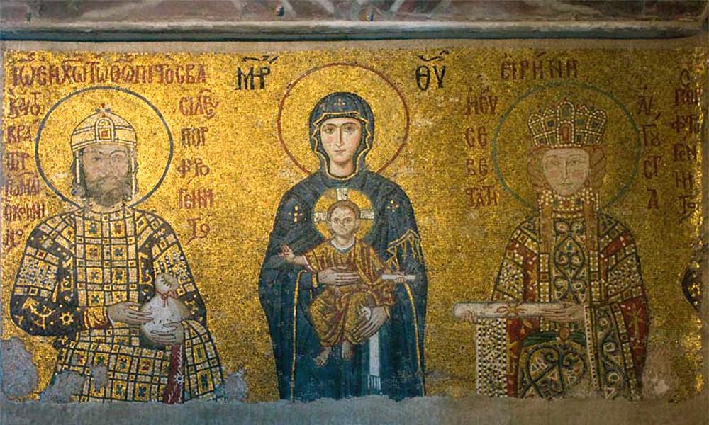 I mosaici di epoca bizantina di Santa Sofia