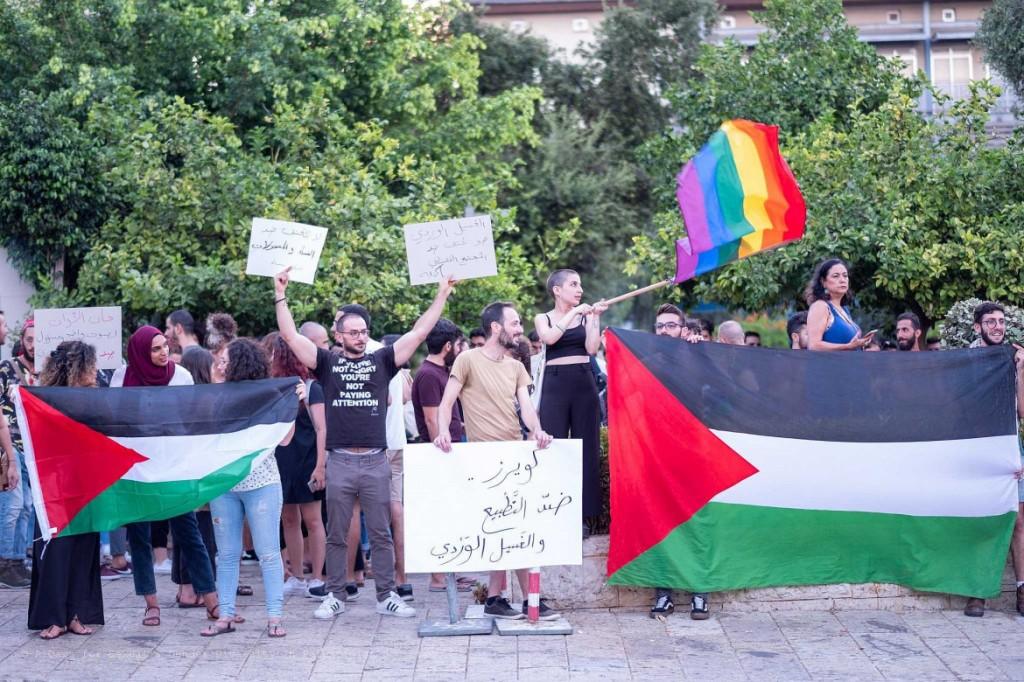 Manifestazione a favore dei diritti Lgbtq © Al Qaws