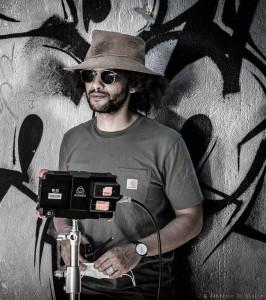 Il regista Amir RA (Foto: Fabrizio Di Giulio)