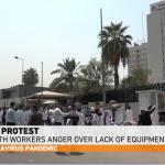 IRAQ. La protesta dei medici contro la disoccupazione