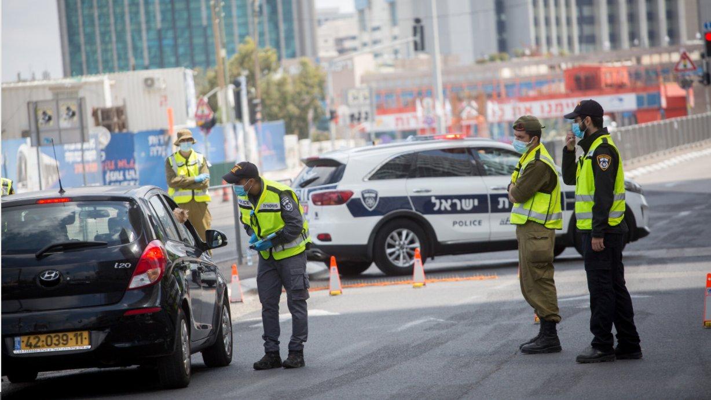 Semi-lockdown in Israele (Foto: Twitter)
