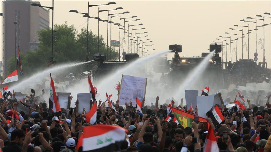 Una delle proteste di questo anno in Iraq (Foto: AA news)