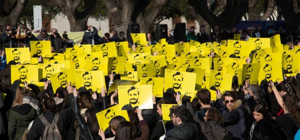 Manifestazione per Giulio Regeni (Foto: Amnesty International)