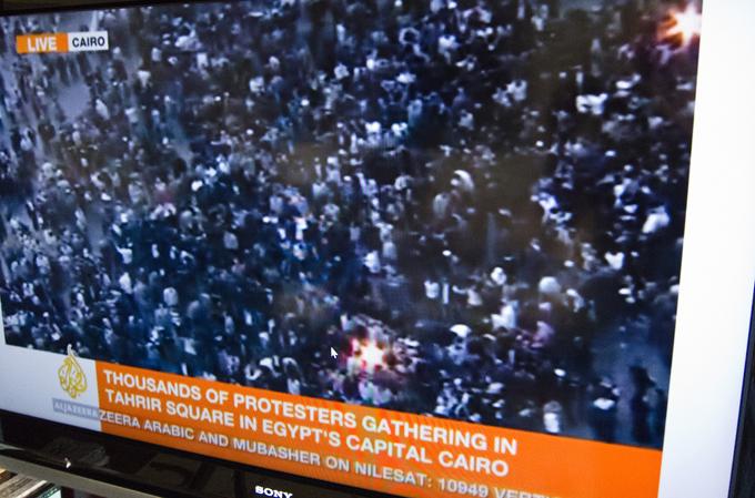 La protesta egiziana su Al Jazeera