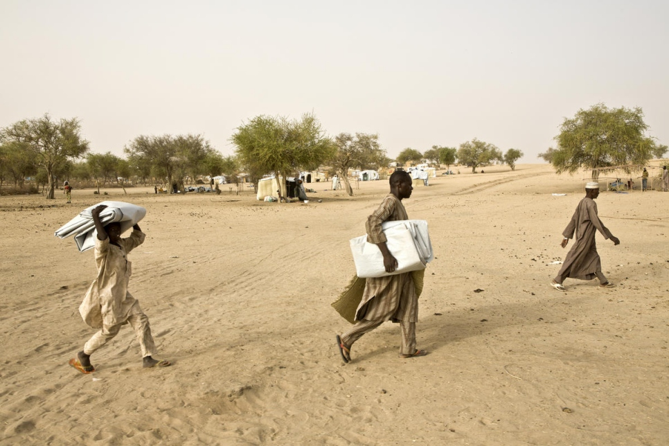 Sfollati in Sahel (Fonte: Unhcr)