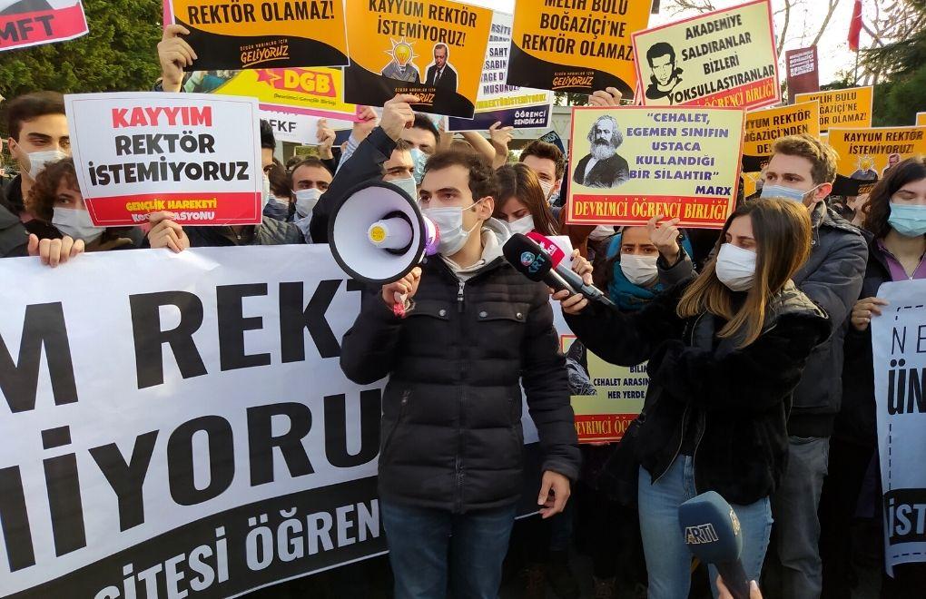 La protesta degli studenti e le studentesse di Bogazici (Fonte: Bianet)
