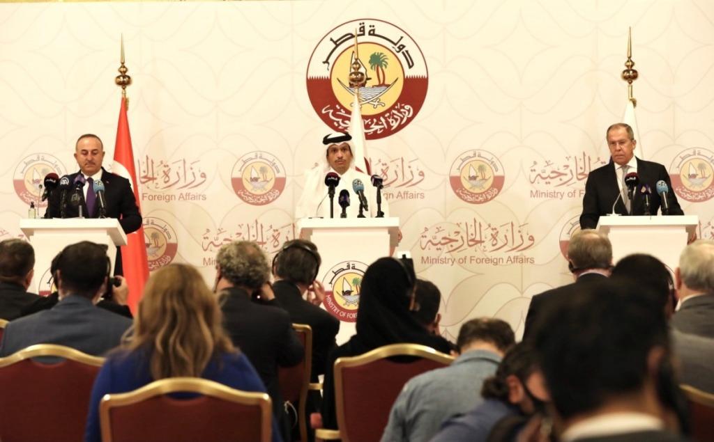 Il vertice a Doha tra Russia, Turchia e Qatar