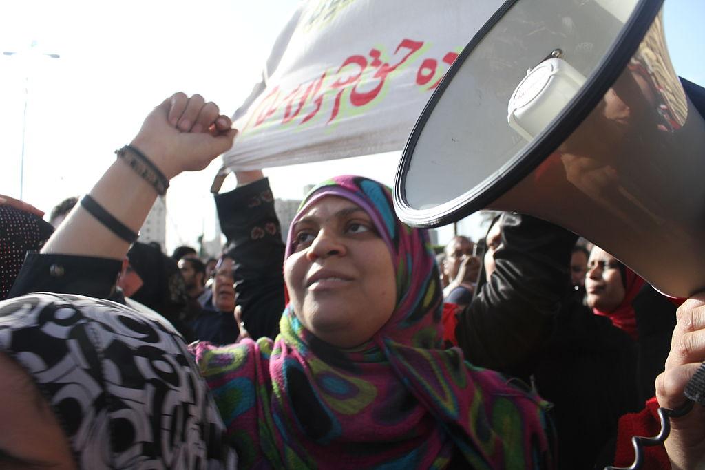 Una manifestazione in Egitto per l'8 marzo (Foto: WikiCommons)
