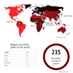 La Turchia non è un paese per giornalisti: primo in classifica per reporter dietro le sbarre