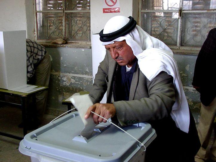 Alle urne palestinesi nel 2006 (Foto: Creative Commons)