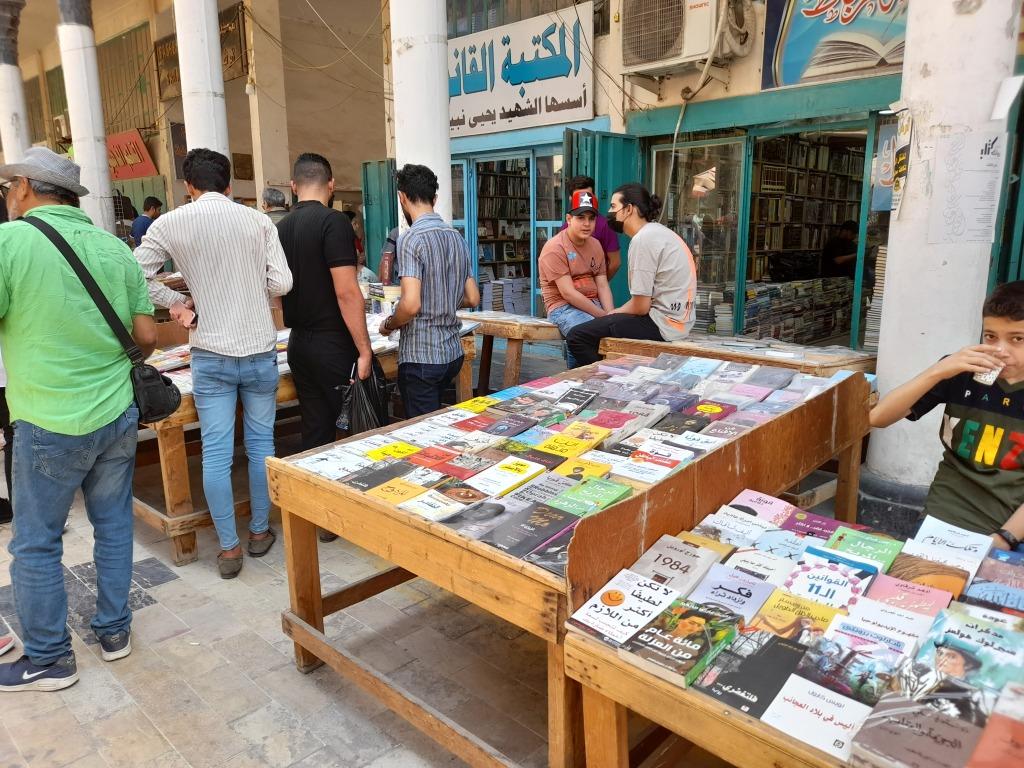 Al-Mutanabbi Street (Foto: Chiara Cruciati)