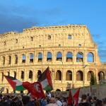 FOTO. Decine di migliaia di persone in piazza in Italia per la Palestina