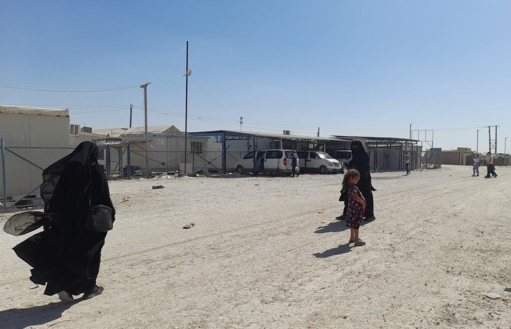 Nel campo di al-Hol, Rojava (Foto: Chiara Cruciati)