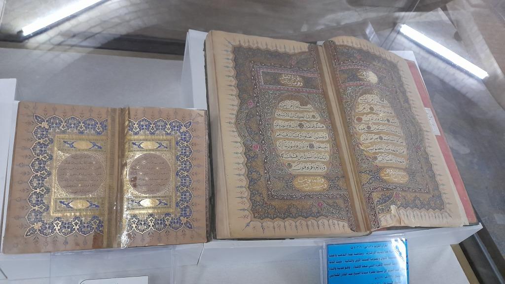 Alcuni dei manoscritti custoditi alla biblioteca al-Qadiriyya (Foto: Chiara Cruciati)