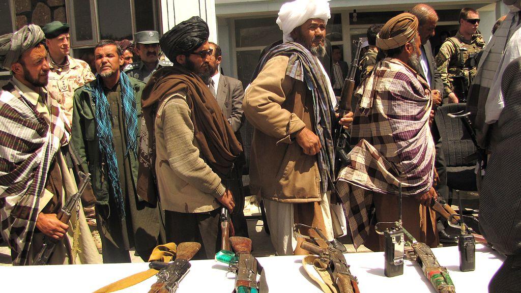 Talebani a Kabul (Fonte: Department of Defense Us)