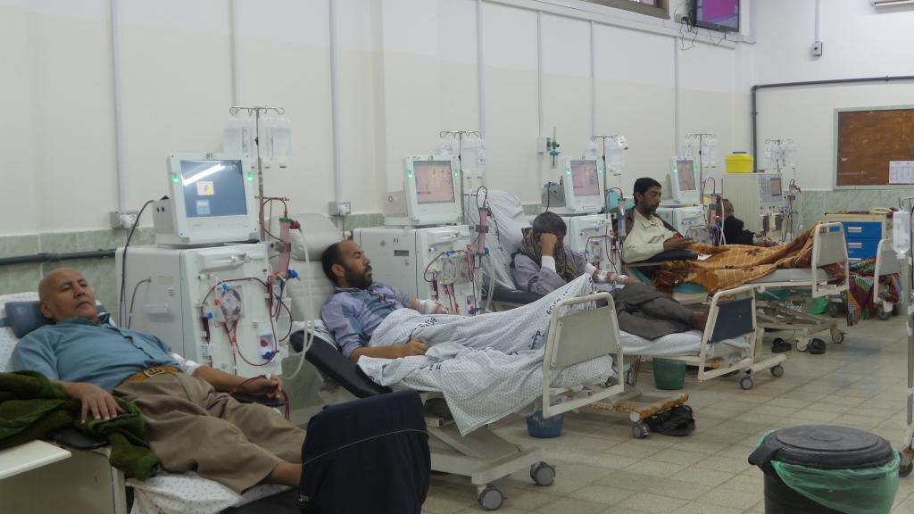 Dyalisis service in al-Najjar hospital - Rafah