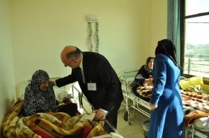 Il dotto Basmna Alashi (Foto: Federica Iezzi/Nena News)
