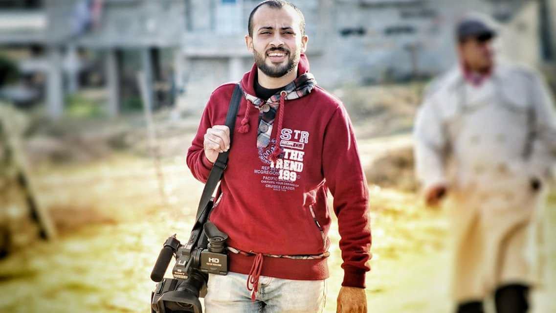 Il giornalista Ahmad Abu Hussein, ucciso a Gaza